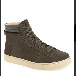 Andrew Marc Remsen high top sneaker
